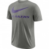 T-shirt Los Angeles Lakers Dry dk Gris en Promo
