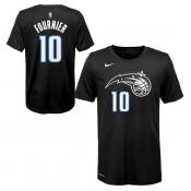 Vente Privee T-shirt NBA Enfant Evan Fournier Orlando Magic City Edition Noir