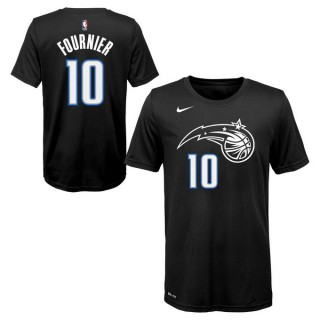 Vente Privee T-shirt NBA Enfant Evan Fournier Orlando Magic City Edition Noir