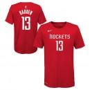 En ligne T-shirt NBA Enfant James Harden Houston Rockets Icon Rouge