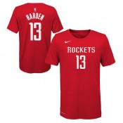En ligne T-shirt NBA Enfant James Harden Houston Rockets Icon Rouge