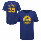 T-shirt NBA Enfant Kevin Durant Warriors Icon Nba Bleu Pas Cher Provence