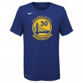 T-shirt NBA Enfant Stephen Curry GS Warriors Icon Curry Bleu France Métropolitaine