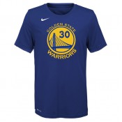 T-shirt NBA Enfant Stephen Curry GS Warriors Icon Curry Bleu France Métropolitaine