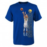 Paris T-shirt NBA Stephen Curry Pixel Bleu
