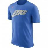T-shirt Oklahoma City Thunder City Edition Dry signal Bleu moins cher