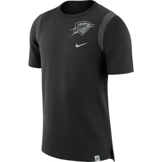 Site T-shirt Oklahoma City Thunder Noir