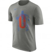 T-shirt Russell Westbrook Oklahoma City Thunder Dry Gris soldes