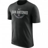 T-shirt San Antonio Spurs Dry Noir Magasin Lyon