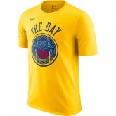 T-shirt Stephen Curry City Edition Golden State Warriors Dry Jaune à Petit Prix