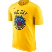 T-shirt Stephen Curry City Edition Golden State Warriors Dry Jaune à Petit Prix