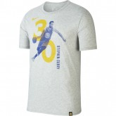 T-shirt Stephen Curry Golden State Warriors Dry Gris Personnalisé