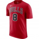T-shirt Zach Lavine Chicago Bulls Dry Rouge France Magasin