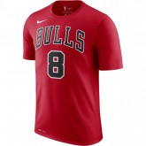 T-shirt Zach Lavine Chicago Bulls Dry Rouge France Magasin