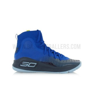 Under Armour Curry 4 Enfant More Fun GS Bleu Magasin Lyon