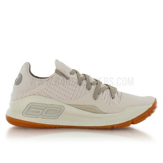 Under Armour Curry 4 Low Baja Beige / Brun PasCher Fr