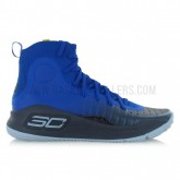 Under Armour Curry 4 More Fun Bleu Rabais