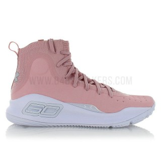 Under Armour Curry 4 flushed pink all star Rose soldes