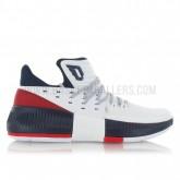 adidas Dame 3 USA Blanc Promo prix