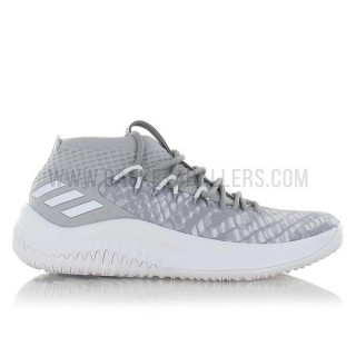 adidas Dame 4 Start to finish Gris Rabais prix