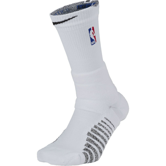 Chaussettes NBAgrip Power/black Blanc