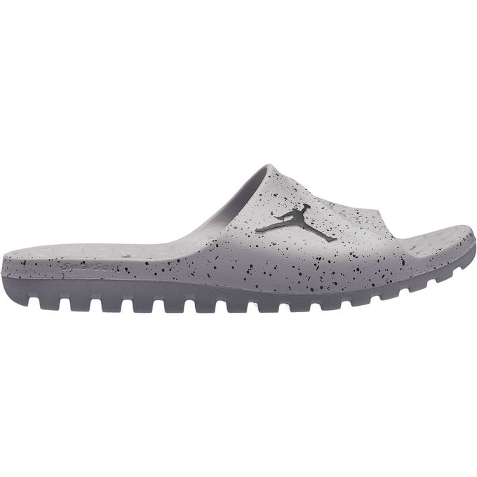 new style on feet shots of best Claquettes Jordan Super.fly Team Slide cement Gris solde