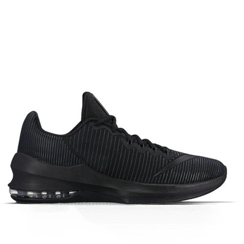 Homme Nike Air Max Infuriate 2 Low Basketball Shoe/black-anthracite-mtlc Noir
