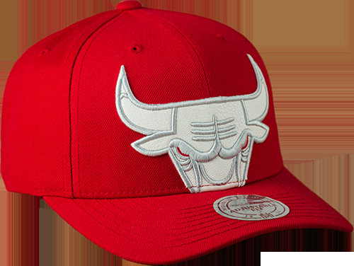 Katrina 3 Chicago Bulls Cropped Strapback Rouge