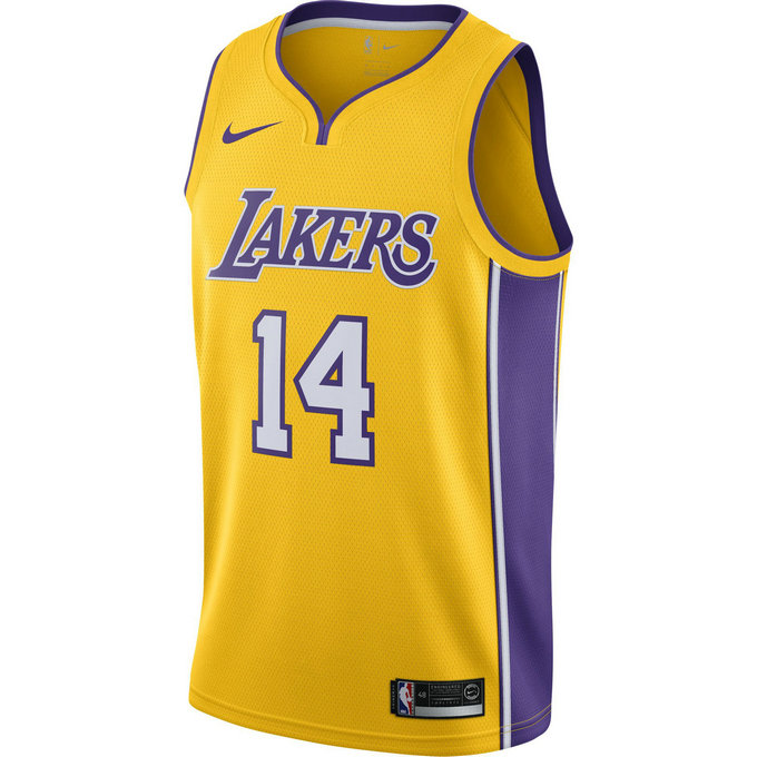 Maillot Brandon Ingram Los Angeles Lakers Icon Edition Swingman Jaune