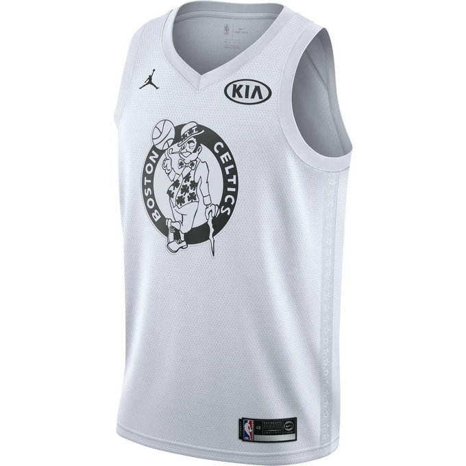 Maillot Kyrie Irving All-star Edition Jordan Swingman Blanc
