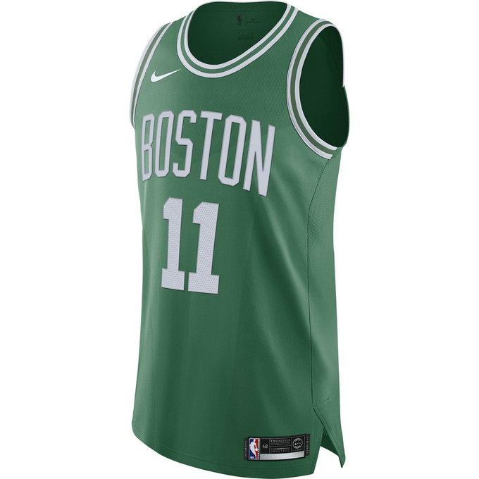 Maillot Kyrie Irving Icon Edition Authentic boston Celtics Vert
