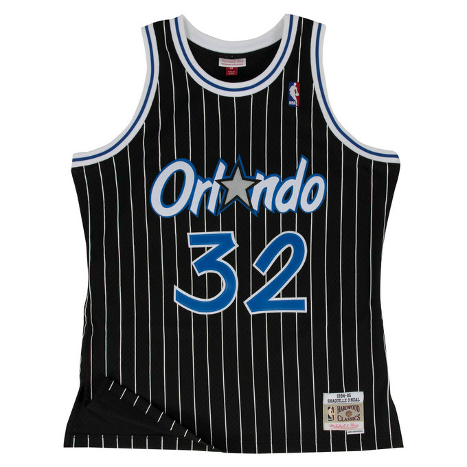 Maillot NBA Shaquille Oneal Orlando Magic 1994-95 Swingman Mitchell&Ness Noir