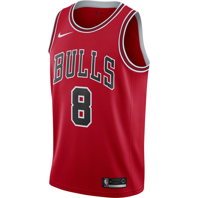 Maillot Zach Lavine Maillot Icon Edition Swingman chicago Bulls Rouge