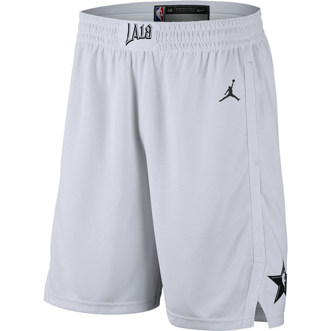 Short All-star Edition Jordan Swingman/black Blanc