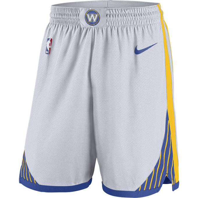 Short Golden State Warriors Association Edition Swingman Blanc