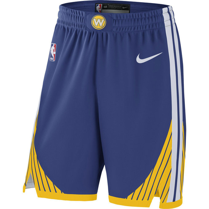 Short Golden State Warriors Icon Edition Authentic Bleu