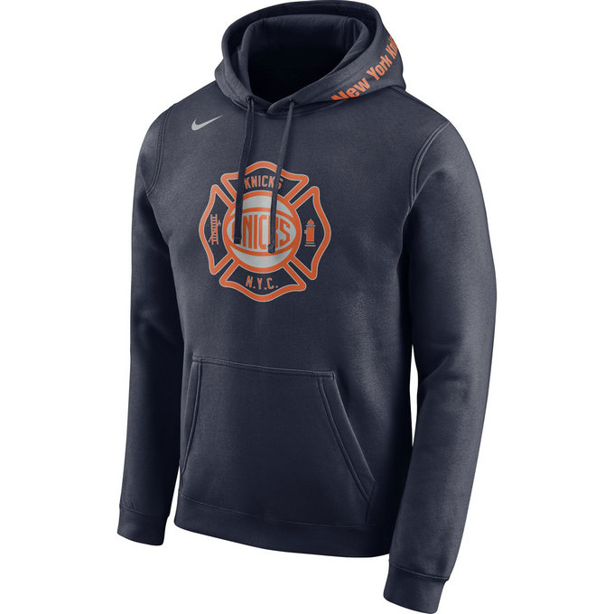 Sweat New York Knicks City Edition Bleu