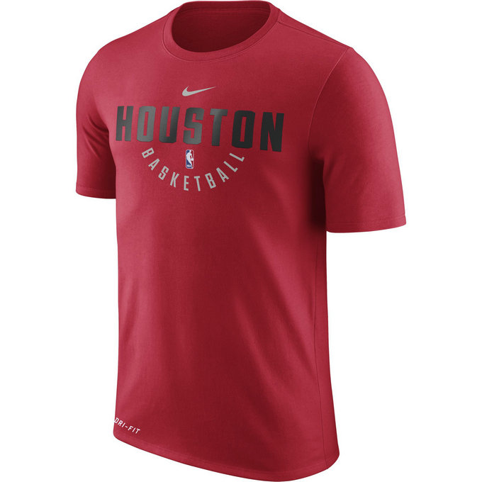 T-shirt Houston Rockets Dry Rouge