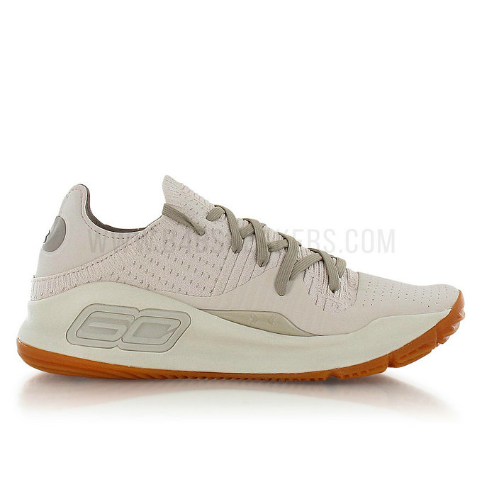 Under Armour Curry 4 Low Baja Beige / Brun