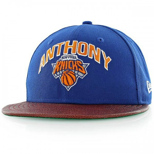 1aee3fae95c17 Casquette New Era NBA Players New York Knicks Carmelo Anthony bleu Bleu  Paris