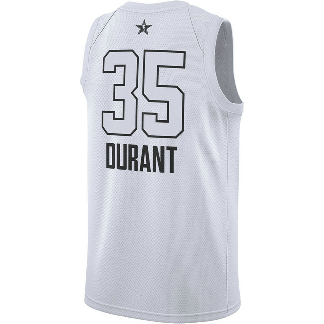 Maillot Kevin Durant All-star Edition Swingman Jordan Blanc
