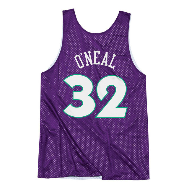 Maillot NBA All-Star Shaquille ONeal 1995 East Reversible Mitchell&Ness Violet