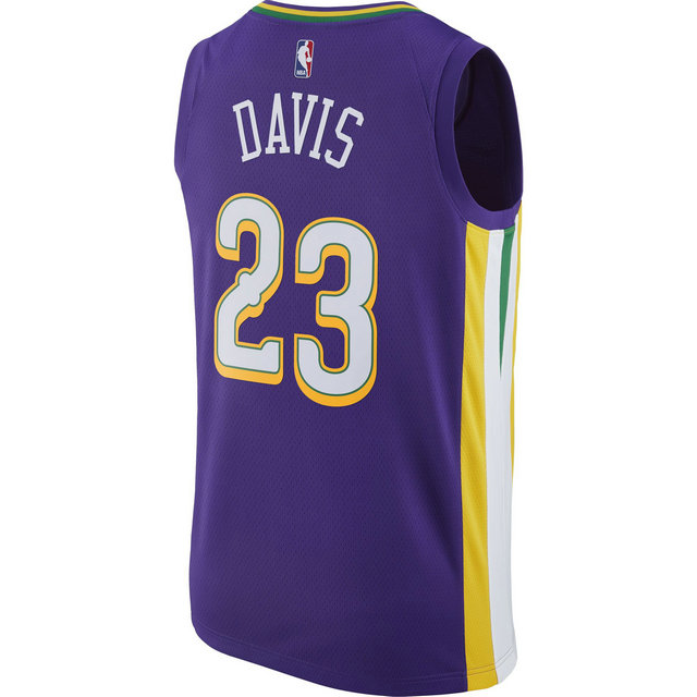 Maillot Anthony Davis New Orleans Pelicans City Edition Swingman Violet