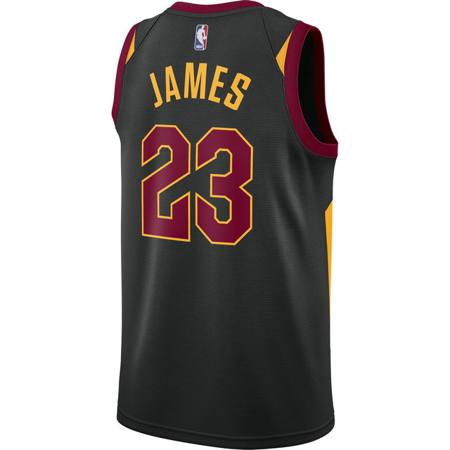 Maillot Lebron James Statement Edition cleveland Cavaliers Swingman Noir