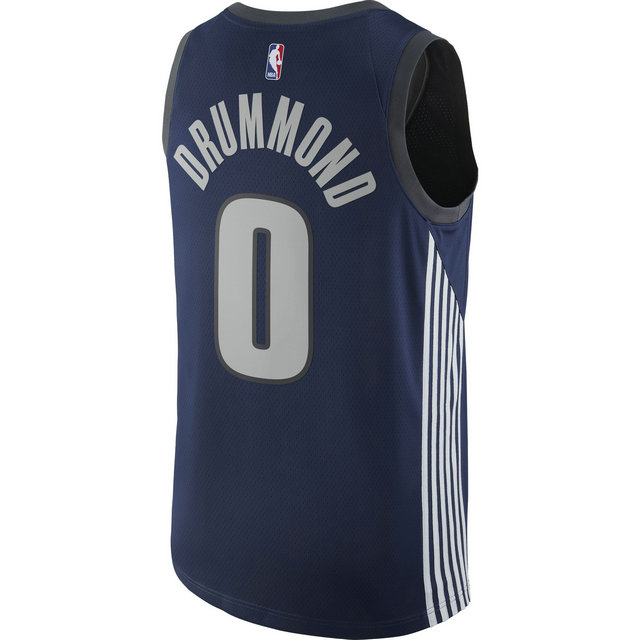 Maillot Andre Drummond City Edition Swingman (detroit Pistons) Bleu
