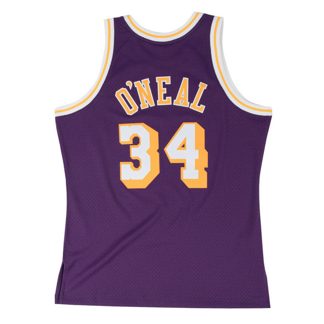 Maillot NBA Shaquille Oneal LA Lakers 1996-97 Swingman Mitchell&Ness Violet