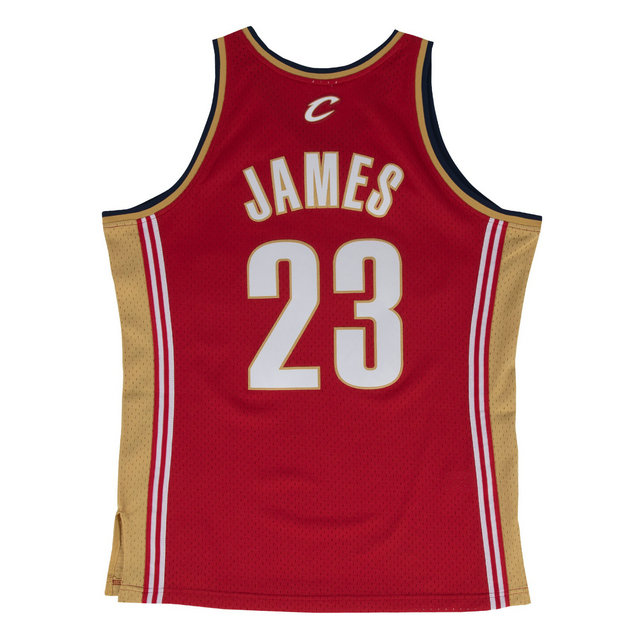 Maillot NBA LeBron James Cleveland Cavaliers 2003-04 Swingman Mitchell&Ness Rouge
