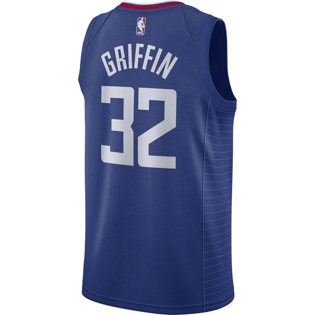 Maillot Blake Griffin LA Clippers Icon Edition Swingman Bleu