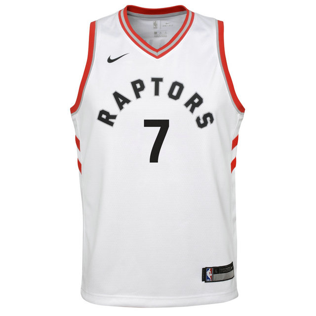 Maillot NBA Enfant Kyle Lowry Toronto Raptors Association Swingman Rouge