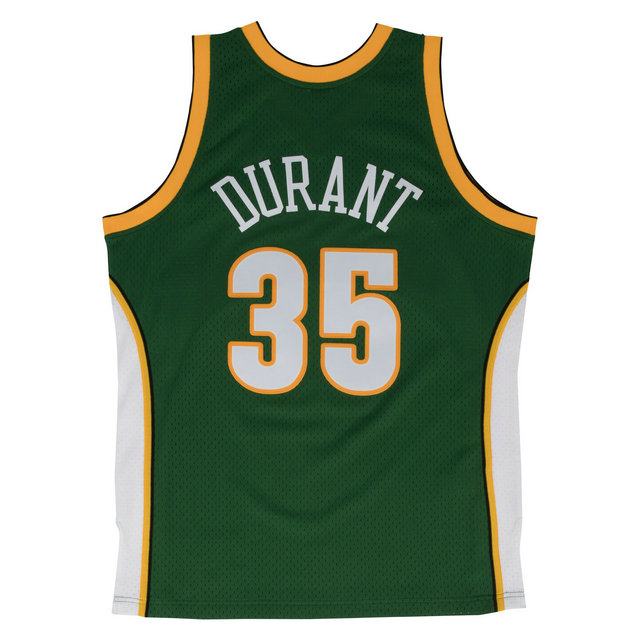 Maillot NBA Kevin Durant Seattle Sonics 2007-08 Swingman Mitchell&Ness Vert